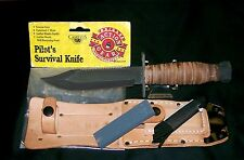 "Camillus Pilots Knife ""SFO"" Post Contract 1989 W/Packaging & Care Instructions"