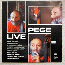 LP / KARL RATZER / AUSTRIA / RARITÄT / LIVE PEGE / RUDI STAEGER / KLEINSCHUSTER