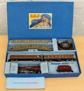 Vintage Hornby Dublo OO 3 Rail EDP2 LMS Duchess of Atholl Passenger Set, Boxed