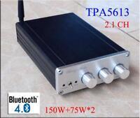 Breeze Audio 2.1 Channels Digital Amplifier Bluetooth 4.0 Subwoofer Output Sound