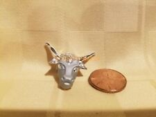 Buffalo Head Desert Country Collector's Souvenir Lapel Pin