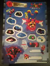 Autocollants Mario 64 1997 Goodies
