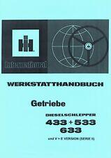 Werkstatthandbuch Getriebe IHC 433 533 633 WHB SO
