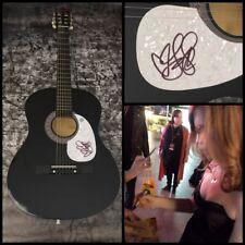 GFA Stay I Missed You * LISA LOEB * Signed Acoustic Guitar PROOF L1 COA