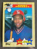 1987 Topps All-Star Kirby Puckett #611 - Minnesota Twins - HOF - MINT