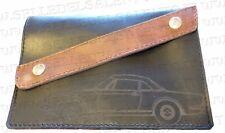 Portadocumenti portalibretto pelle Fiat 124 Spider Leather