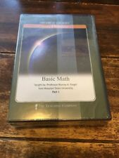 The Teaching Company Great Courses Basic Math Part 1-2-3~Dvd's(6) Siegel New!