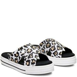 Converse Sandals Size 6 Leopard Print