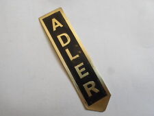Nameplate Eagle Brass S20
