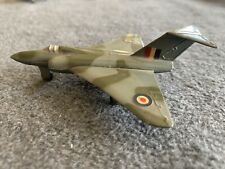 Dinky 735 Gloster Javelin fighter aircraft - die cast - vintage