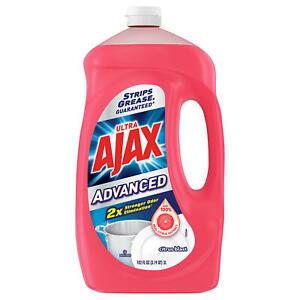Ajax Advanced Citrus Blast Dishwashing Liquid (102oz.) ~ Free Shipping