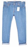 Levis 501 CT Slim Boyfriend Mid Rise BLUE Tapered Crop Jeans Size 12 W29 L32