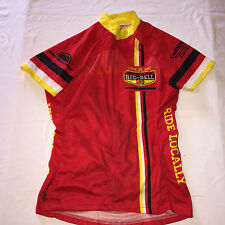Small Primal Women's Red Bell Ride Locally Cycling Race Jersey To EUC