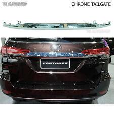 Chrome Line Strip Tailgate Trim For New Toyota Fortuner 2016 2017 Genuine Parts