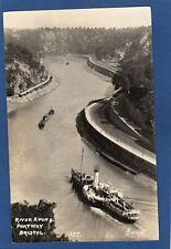 More details for river avon portway bristol  paddle steamer rp pc used 1936  garratt  z279
