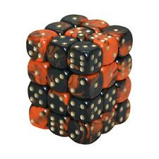 12MM d6 OBLIVION dice set - ORANGE (x36)