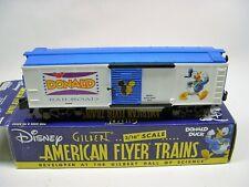 6-48351 American Flyer Donald Duck & Daisy Boxcar in OB