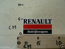 STICKER,DECAL RENAULT, BEDRIJFSWAGENS SMALL