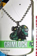 Transformers Grimlock Necklace & Rubber Bracelet Set -BRAND NEW IN PACKAGE!