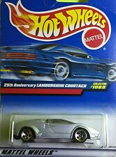 Hot Wheels Lamborghini Countach 1089 Diecast metal car toy scale 1/64 Mattel 3+.