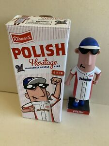 2013 Milwaukee Brewers Klements Polish Heritage Bobble Head in Box