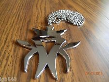 Mip-Extra Large Sized Kottonmouth Kings Pendant W/ matching 24 inch cuban chain