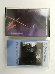Supertramp (Famous Last Words and Free as a Bird) Cassette Lot of 2