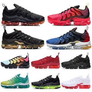 2021 Womens MensVM Vapor Running Shoes Air Cushion  TN Metallic Trainer Sneaker