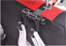 4Pcs Hot Universal Car Truck Suv Seat Back Hanger Organizer Hook Head 00004000 rest Holder