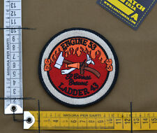 "Ricamata / Embroidered Patch Fire Dept. ""Engine 56"" with VELCRO® brand hook"