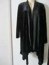 Mela Purdie black velvet coat , AUS size (2X) 18, NEW