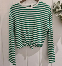 H&M Striped Top - Size Small