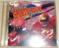 Greatest Sports Rock and Jams by Various Artists CD 1997 2 Discs, Cold Front