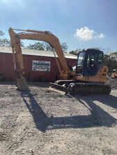 2010 Case Cx80 Hydraulic Midi Excavator With 3rd Valve Blade Amp Cab Clean 5500hrs