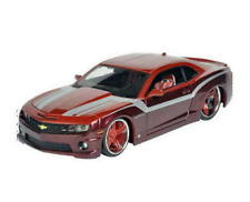 2010 Chevrolet Camaro SS RS Maisto  Diecast 1:24 Scale Red / Wine FREE SHIPPING