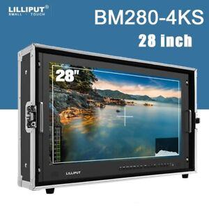 "LILLIPUT BM280-4KS 28"" 4K Camera monitor 3D Broadcast Ultra HD 3G-SDI/DVI/VGA"