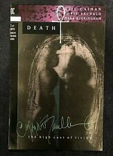 Death The High Cost Of Living #3 Vertigo 1993 Signed Chris Bachalo  NM/M