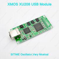 XMOS XU208 USB Digital Interface USB To I2S For DAC DSD512 USA SITIME Oscillator