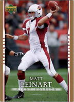 2007 Upper Deck First Edition Gold Football Card Pick