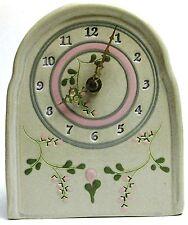 Glazed Ceramic Clock - Works Perfectly (5.5 x 7)