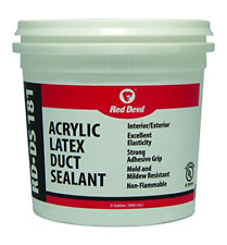 Red Devil 0841Ds Acrylic Duct Sealant.5 Gallon, Gray