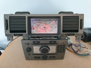 VAUXHALL SIGNUM VECTRA CD70 NAVI SAT NAV CAR RADIO CD PLAYER & CID DISPLAY