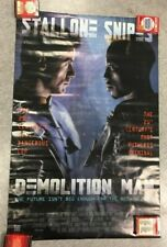 Demolition Man Movie Promo Poster Stallone Snipes #2377 Osp New Sealed