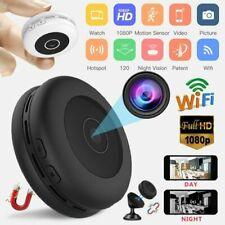 Mini Hidden Spy Camera Wireless HD Wifi 1080P Indoor Home Small Security Cam