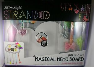 Magical Memo Board Includes 3 Chains + 1 Studded & 1 Metal Ready to Design