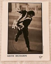 KEITH RICHARDS Photograph JEFF BENDER Promo VIRGIN Press Photo Rolling Stones