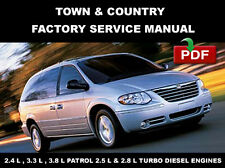 CHRYSLER TOWN & COUNTRY 2001 2002 2003 2004 2005 SERVICE REPAIR WORKSHOP MANUAL