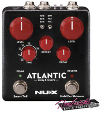 NUX NDR5 Atlantic Delay and Reverb Effects Pedal