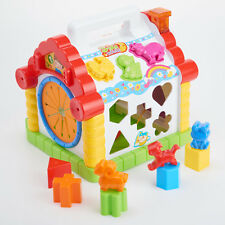 Baby Early Education Activity Center Toy Multifunctional Wisdom Funny House Toys