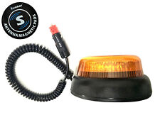 LED Warnleuchte Blinkleuchte Double Flash 12V 24V 48V LKW mit Magnetunterlage